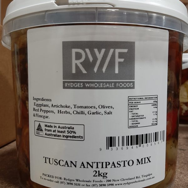 Antipasto Mix Tuscan 2kg Bucket