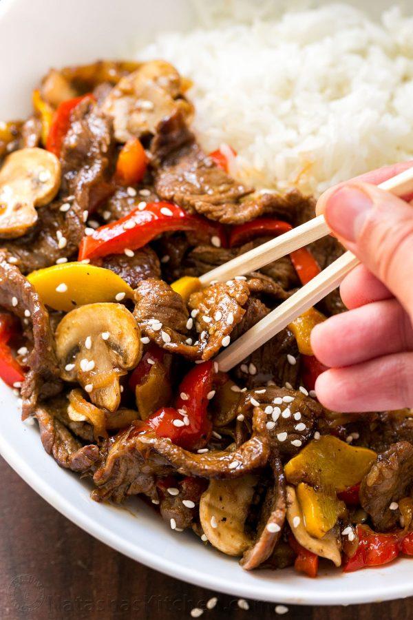 Asian Beef Stir Fry 10