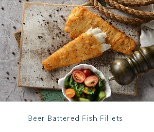 BEER FILLETS FISH