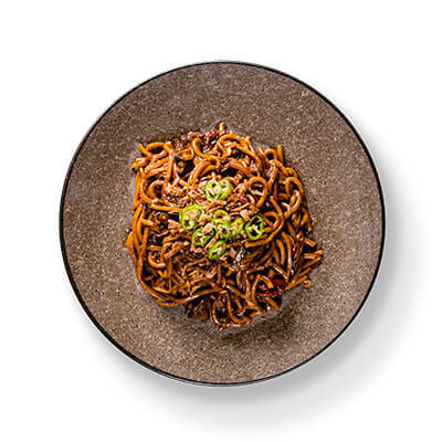 Beef and Blackbean Noodles T