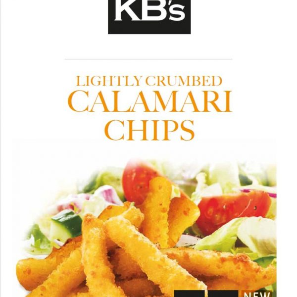 Calamari Chip Crumbed KB