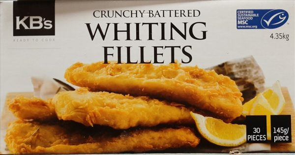 Crunchy Battered Whiting 145g