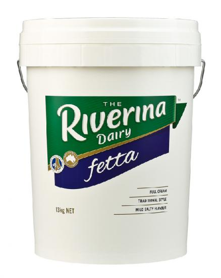 FETTA CHEESE RIVERINA 13KG