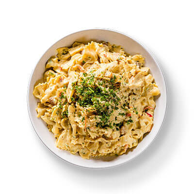 Honey-Mustard-Bowtie-Pasta