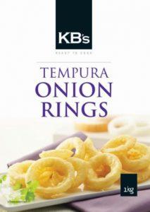 KB TEMPURA ONION RINGS