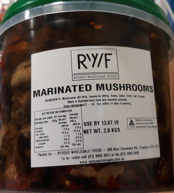 Mushrooms Marinated 2kg