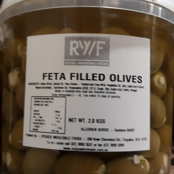 Olives Feta-filled 2kg
