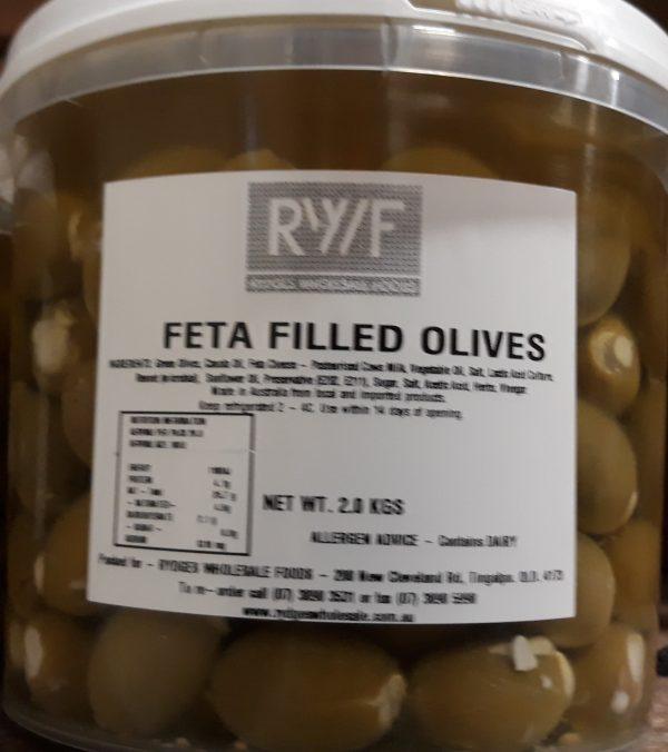 Olives Feta-filled 2kg