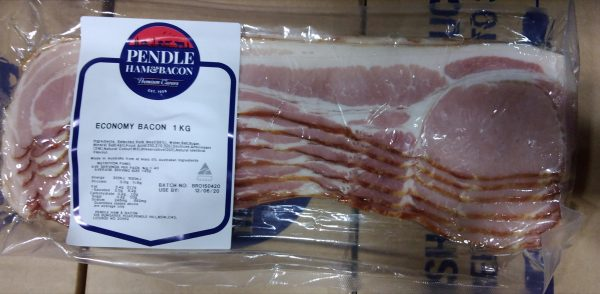 Pendle Rind On Bacon Economy 1kg Retail