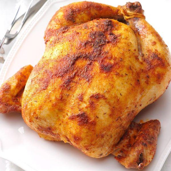 SEASONED WHOLE CHICKEN