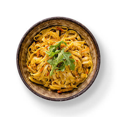 Satay Chicken Fettuccini T