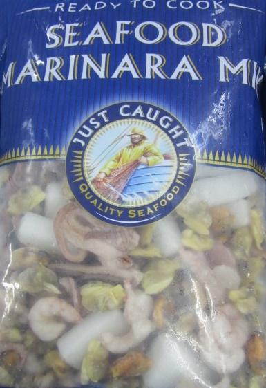 Seafood Marinara Mix Just Caught