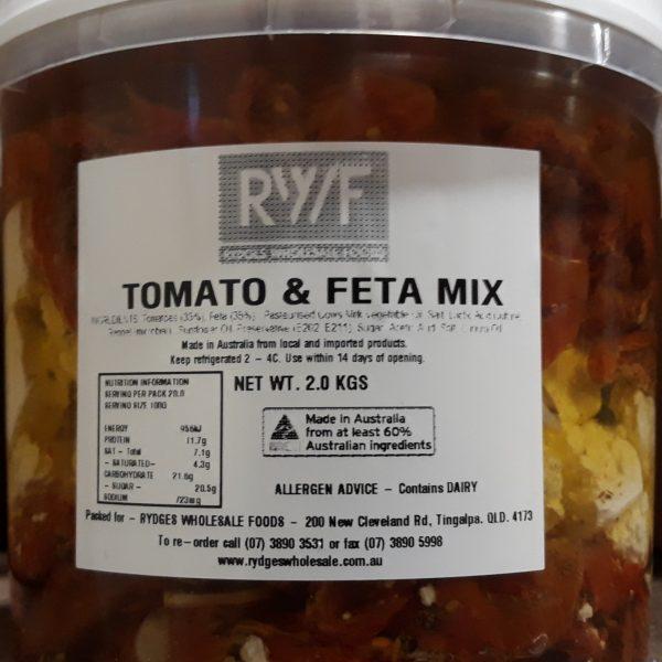 Semi dried Tom and Feta 2kg
