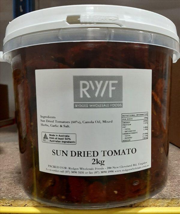 Sundried tomato 2kg tub