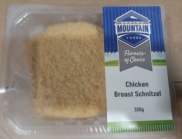 Tray Packed Breast Schnitzels