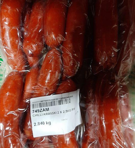 chilli kranski 2x2.5kg