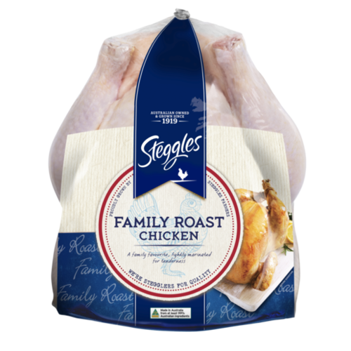 family roast festive chicken steggles