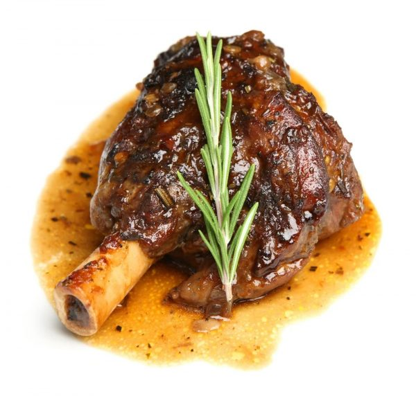 lamb shanks rosemary and garlic