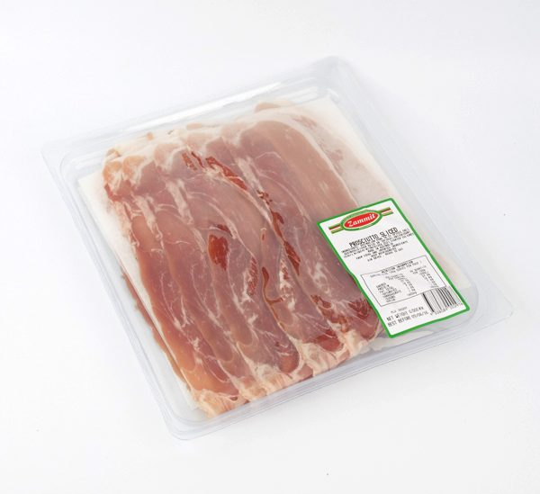 proscitto sliced 500gram