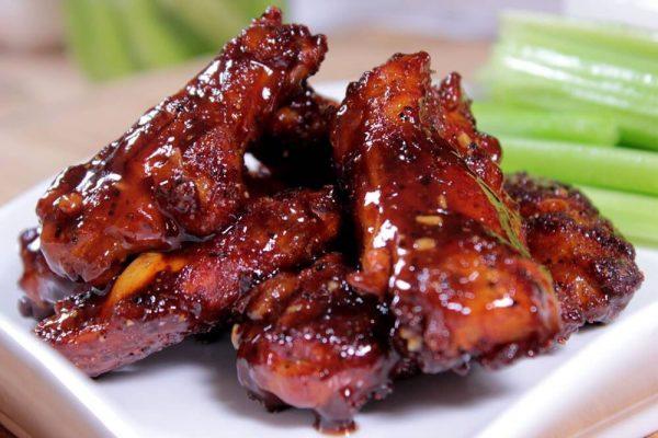 smokey bbq chicken nibbles