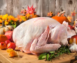 turkey whole fresh