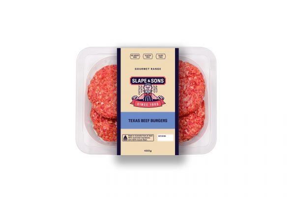 Slape - Texas Beef Burgers