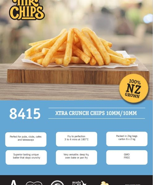 Mr Chips 10mm Extra crunch CODE 8415
